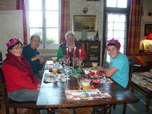 Jean-Pierre, Claire, Aurelien et Brian