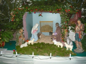 Creche in Village Church