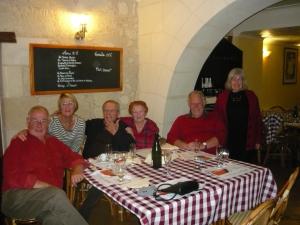 In village restaurant,Le Bouchon Ponot