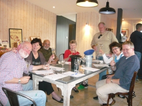 Tutored wine tasting session at La Domaine de la Paleine