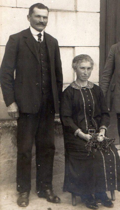 Charles et Eugénie Guyons in 1925