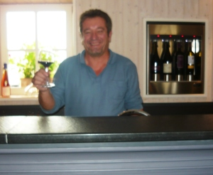 Patrick the winemaker at La Palein