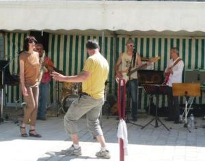 Rock On!  Music in Le Puy Notre Dame