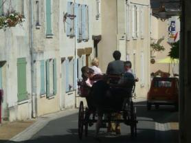 "The ""Calashe""  A tour of the village by cart."
