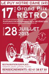 grand Prix Retro 2013, Le Puy Notre Dame