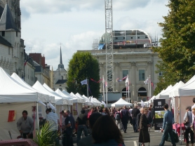 Wine fair at Saumur