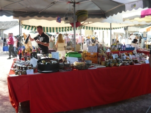 Gourmet Market in Le Puy Notre Dame