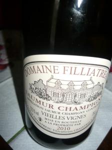 2010 Domaine Filliatreau Saumur Champigny Vieilles Vignes