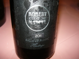 "Award winning Saumur Blanc from ""Robert et Marcel"", the Saumur Co-operative."