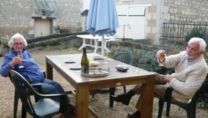 Aperitifs in the Loire