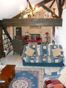 The Lounge in le Sauvignon gite.