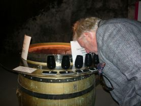 Smelling the essence of Chenin Blanc