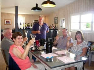 Wine tasting in Le Puy Notre Dame