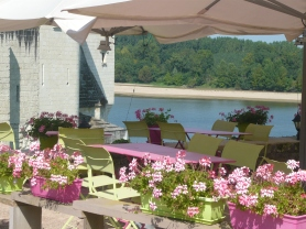 Restaurant on the Loire