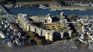 The stunning chateau at Angers