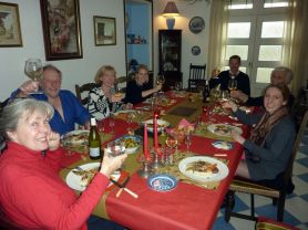 Christmas day at le Clos des Guyons