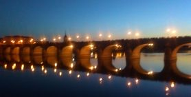 The Pont Cessart from Saumur to l'ile Offard.